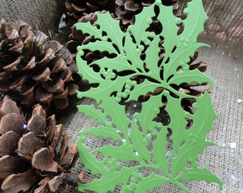 """Anna Griffin Holly Layer Die Cut Set of 6 """"Available in 17 colors!!"""" Mix and Match too"""