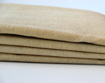 Waxed Cotton Canvas Fabric - Natural 10oz. 59 Inches wide by the yard
