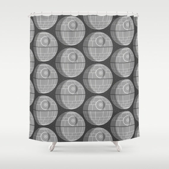 Star Wars Death Star Shower Curtain