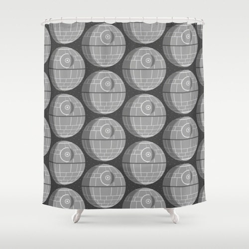rideau de douche star mort star wars. Black Bedroom Furniture Sets. Home Design Ideas