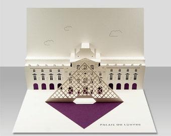 Louvre pop-up