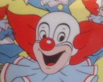 Bozo The Clown Collectible Plate