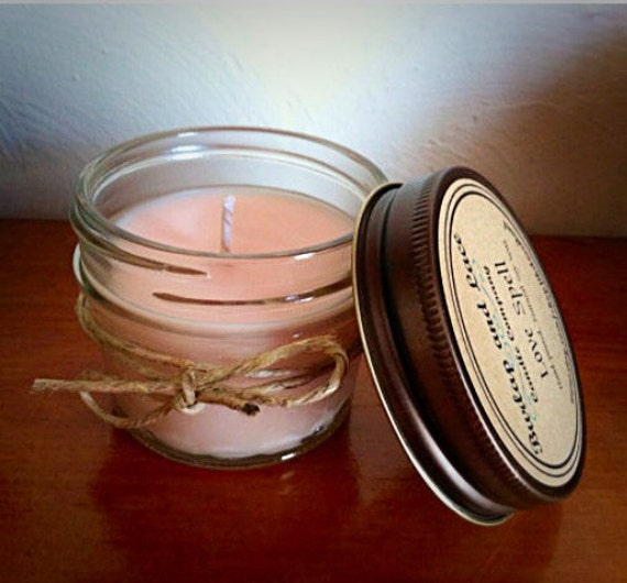 Items Similar To Personalized Candle Wedding Favor, Soy