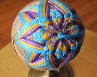 Tamari Ball, Ornaments, Housewares, Gift Idea, Decoration for Home, Various Colors, Handmade,