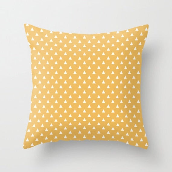 Yellow Decorative Bed Pillows : Items similar to Mustard yellow decorative throw pillows yellow pillow cover home decor ...