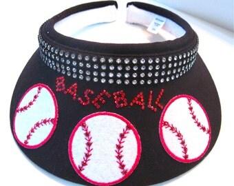 """Baseball Visor """" Show the spirit """" #1"""