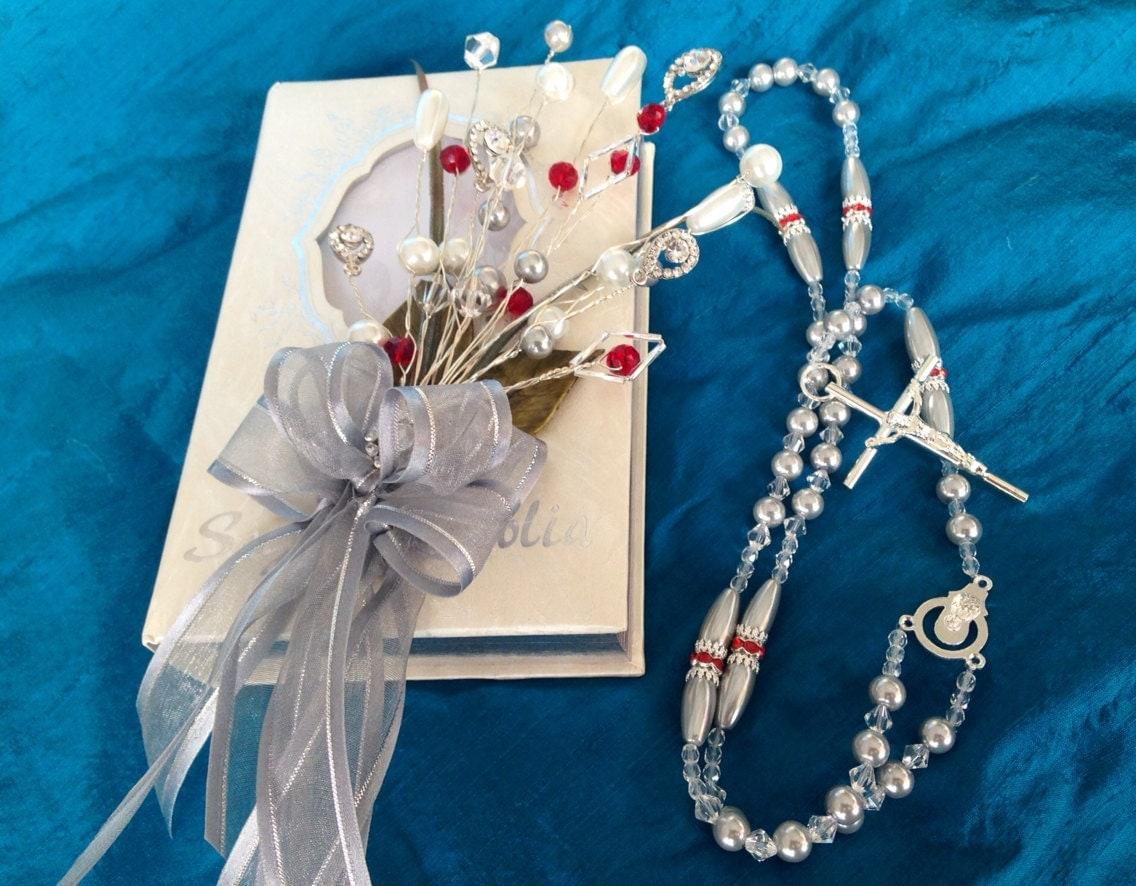 Biblia Para Matrimonio : Bible and rosary set de biblia y rosario para boda