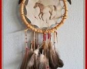 Nez Perce Wall Hanging Appaloosa Painting Mandella