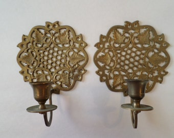 Solid Brass Wall Scones
