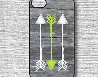 Neon arrows iPhone cases,  iphone6plus, 6, 6s, 5S, 5C, 4 4s, rustic wood sgs4, Sgs3, iphone 5s Love, Ships from USA