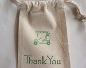 Golf Cart Birthday Favor Bag / Set of 10 / Perfect for Golf Parties