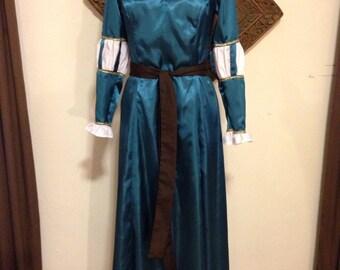 Renaissance Merida Brave Dress Disney Cosplay LARP Custom Orders to Fit Women Size 6 to 18