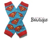 Superman Baby Leg Warmers/Toddler Leg Warmers