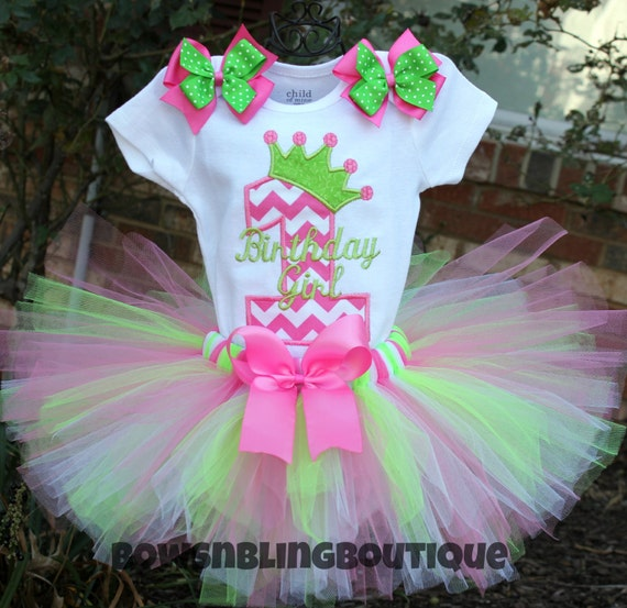First Birthday Outfit Chevron 1st Birthday By