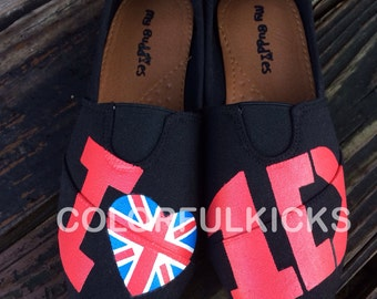 One Direction Slip On Shoes