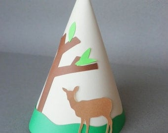 Woodland Theme Party Hats