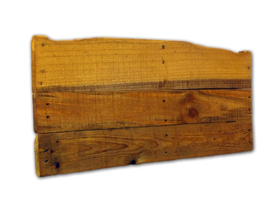 Rustic recycled pallet wood blank panel for sign painting