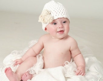 Newborn Crochet Pattern, Baby Crochet Pattern, Toddler Flower Hat Pattern, Crochet Baby Hat Pattern, Crochet Pattern, Crochet Flower Hat