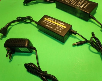 12V 2 Amp 2000ma AC Power Adapter for LED Strip Light - By Custom LED Kits