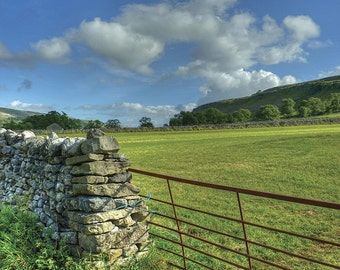 Clouds on a Sunny Day - Yorkshire Dales