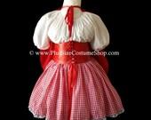 Little RED RIDING HOOD Sexy Plus Size Halloween Costume Adult Womens Size 1X 2X 3X 4X 5X - 4 pcs New