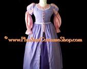 RAPUNZEL TANGLED Plus Size Halloween Costume Juliet Renaissance Dress Adult Womens 1X 2X 3X 4X 5X - 3 pcs New