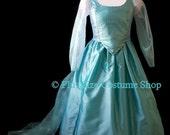ELSA FROZEN Plus Size Halloween Costume Adult Womens 1X 2X 3X 4X 5X - 3 pcs New