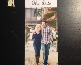 Save-the-Date Custom BookMark with Tassel