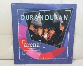 "Duran Duran - ""Arena"" vinyl record."