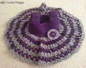 Pdf Crochet Pattern - Crochet Lacy Summer Dress 0-3 & 3-6 Months