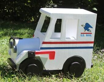 Postal Truck  Mailbox
