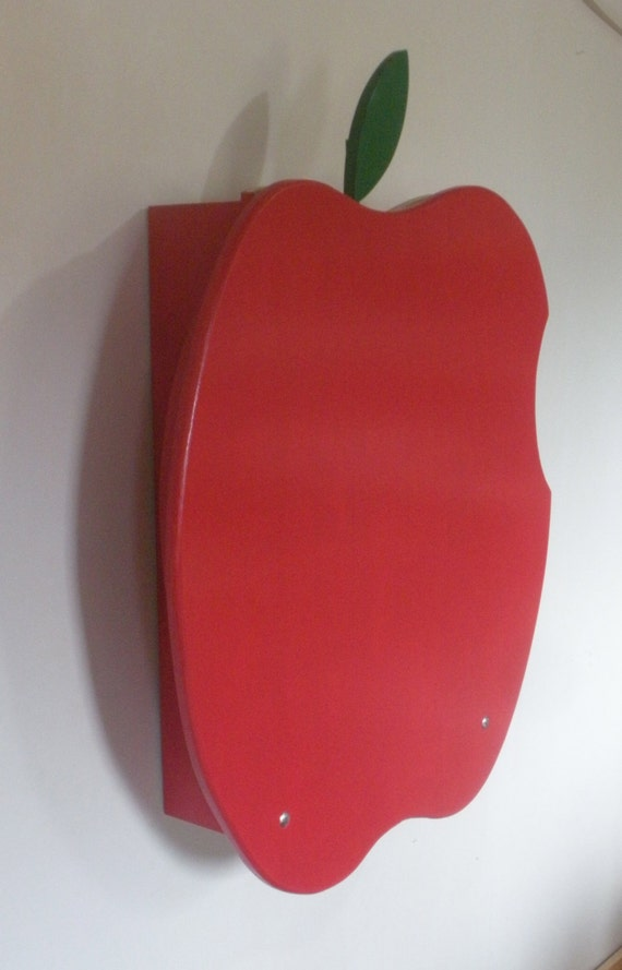 Baby Changing Table Wall Mounted Apple Design