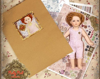 EZ0004A Bleuette Paper Doll Set