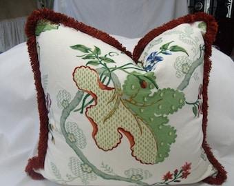 20x20 Floral Print Pillow