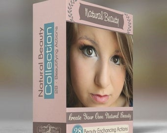 Natural Beauty - Create Flawless skin - Photoshop Action Collection