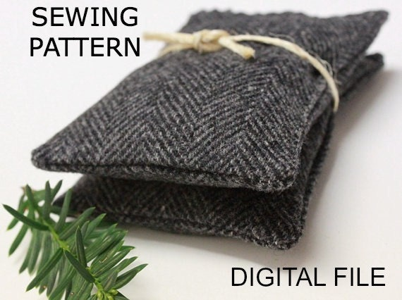 Sewing Pattern for Sachet Make it Yourself PDF - INSTANT DOWNLOAD