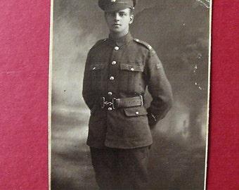 Photographic postcard of Grenadier Guard World War 1