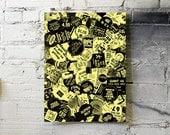 SOUL CHEAP-O BIN! - Limited Edition Hand-Screenprint (Yellow)