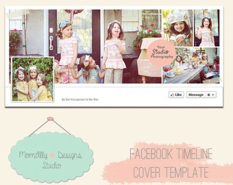 INSTANT DOWNLOAD - Facebook Timeline Cover Template for Personal or Business Page -  Photoshop - YSP1