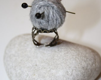 Yarn regulable Ring miniture