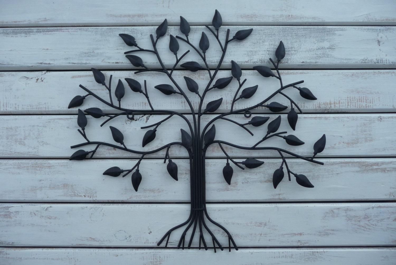 Family Tree Metal Wall Art Personalised Metal Family Tree