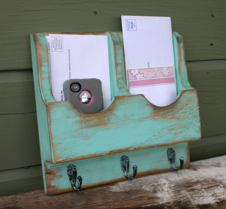 Mail organizer mail holder letter holder organizer mail and - Letter rack and key holder ...