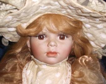 Vintage Treasures Forever Porcelain Doll Limited Edition