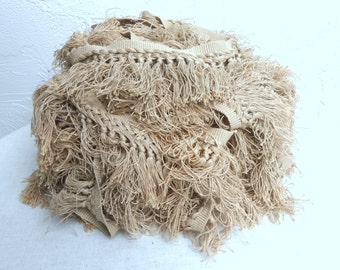 Vintage Light Taupe Fringe from the 70s