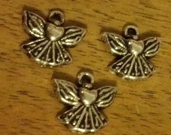 25pcs Tibet Silver beautiful angel Charm Pendant 15mm