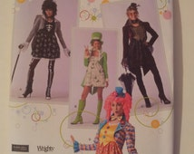 """Simplicity Sewing Pattern 2525 Misses' costumes in size 14, 16, 18, 20 and B hat in three sizes (S 21"""", M 22"""", L, 23"""")"""