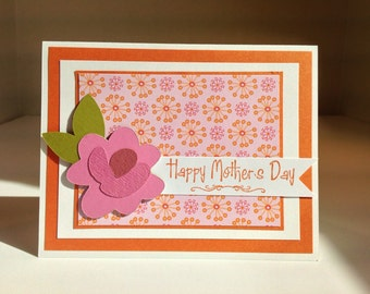 Handmade Greeting Card: Happy Mother's Day