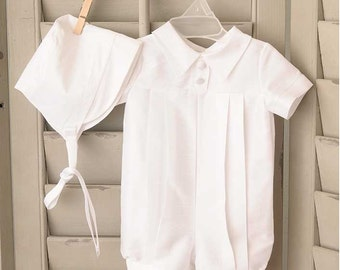 Owen Baby Boy's Discount Christening Baptism or Blessing Outfit  SIZE 24 MONTHS