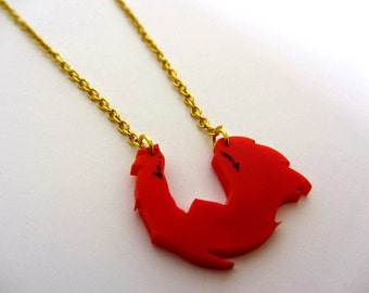 Thundercats laser cut 80's Lion-o necklace
