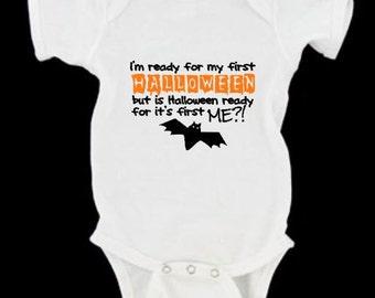 First Halloween bodysuit